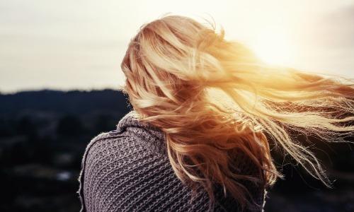 Pregnant Women Have Super Shiny Hair