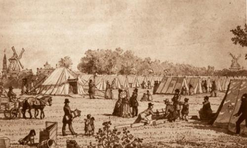 Copenhagen Cholera Outbreak - Denmark, 1853