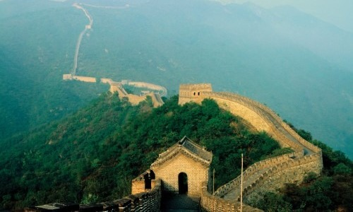 The Great Wall Of China Is The Sole Man-Made Structure Visible From Space