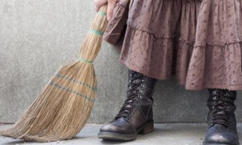 Broom Over Your Feet