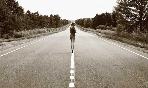 Walking Backwards