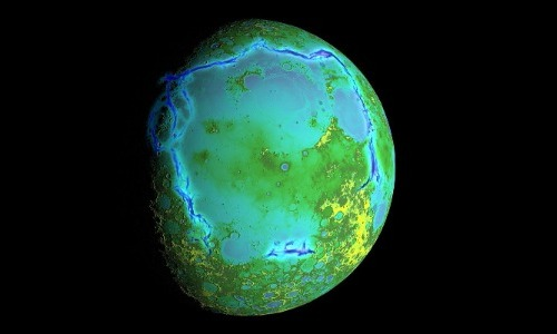 Our Moon will Turn Green