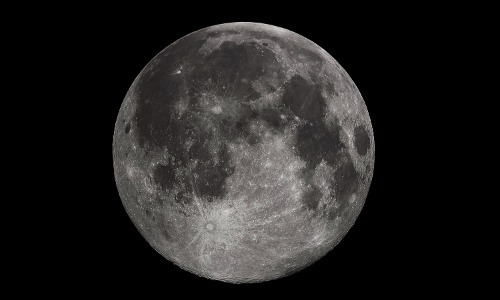 Our Moon is as Large as Mars