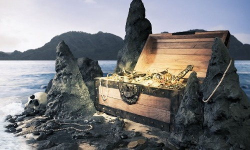 Secret Treasure Island?