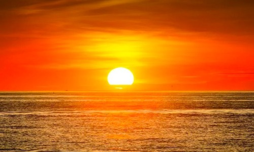 The Sun Is an Egg Yolk Yellow