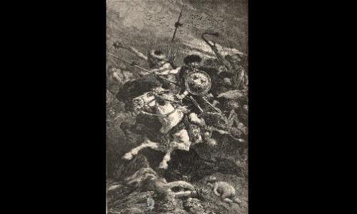 Barbarians Raging Through Europe