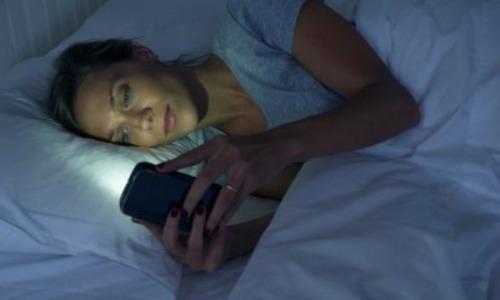 Using Smartphone At Night Destroys Sleep